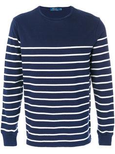 полосатый пуловер с круглым вырезом Polo Ralph Lauren