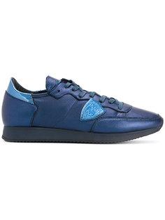 кроссовки с заплаткой-логотипом Philippe Model