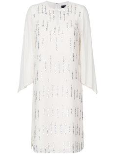 платье с отделкой  Steffen Schraut