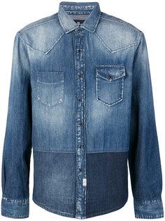 """джинсовая куртка в стилистике """"пэчворк"""" 7 For All Mankind"""