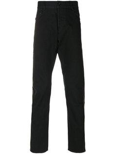 брюки с заниженным шаговым швом Unconditional