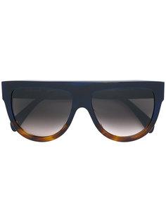 солнцезащитные очки с контрастными деталями Céline Eyewear