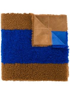 шарф с контрастными полосками Astraet