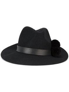 шляпа Malise с помпоном Yosuzi