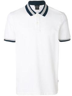 футболка с контрастными полосками Boss Hugo Boss
