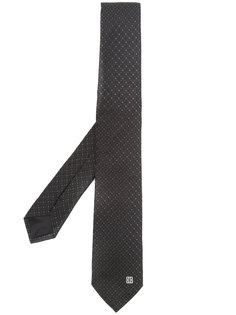 галстук с вышивкой логотипа Givenchy