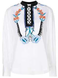 рубашка Peacock Temperley London