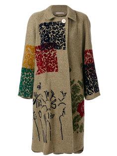 декорированное пальто Ermanno Gallamini