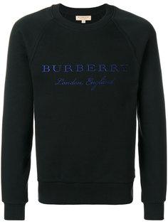 толстовка  с вышитым логотипом Burberry
