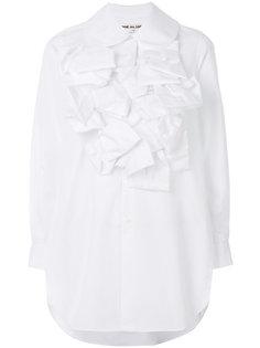 рубашка со структурированным воротником Comme Des Garçons