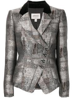 асимметричный пиджак Armani Collezioni