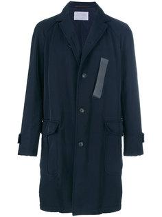 пальто на пуговицах Kolor