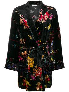 халат с цветочным узором Pierre-Louis Mascia