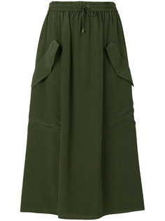 юбка из крепа  Kenzo