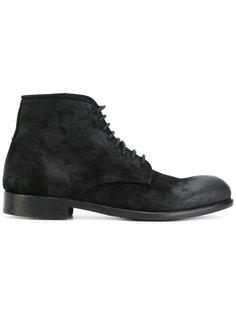 ботинки по щиколотку на шнуровке Leqarant