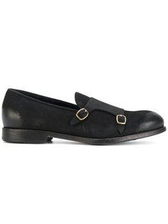 туфли-монки с пряжками Leqarant