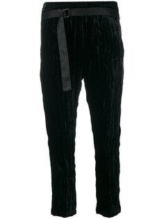вельветовые брюки Ann Demeulemeester