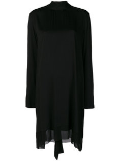 платье с высокой горловиной Ann Demeulemeester