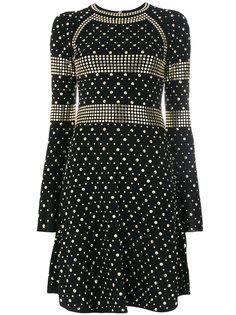 платье с заклепками  Michael Michael Kors