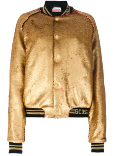 куртка-бомбер с пайетками  Gcds