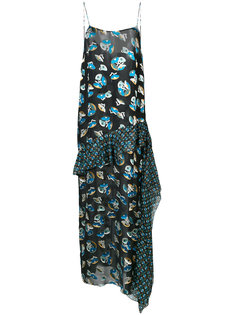 all-over print maxi dress Anna Sui