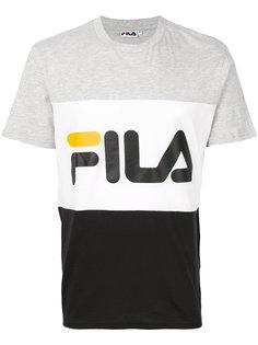 футболка с принтом логотипа Fila