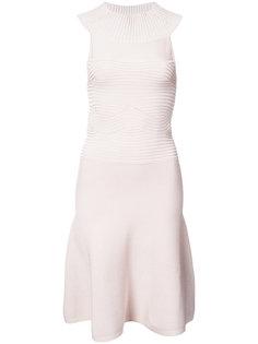 расклешенное платье с вырезом-халтер Cushnie Et Ochs
