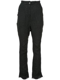 брюки с потертой отделкой Barbara I Gongini