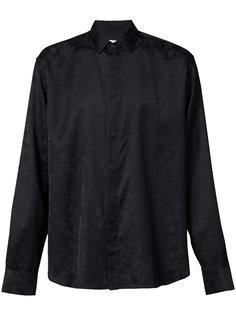 жаккардовая рубашка Saint Laurent
