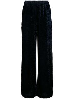 бархатные брюки палаццо Nili Lotan