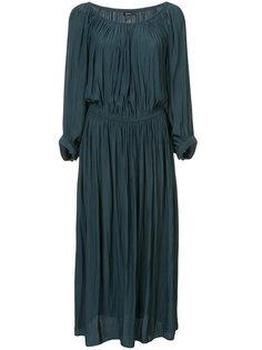 платье с присборенной отделкой Smythe