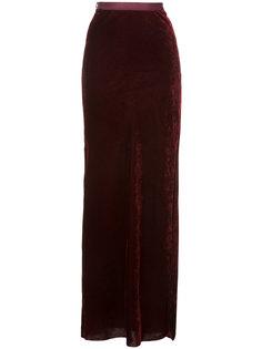 длинная бархатная юбка Nili Lotan