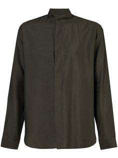 рубашка с воротником-стойкой Saint Laurent