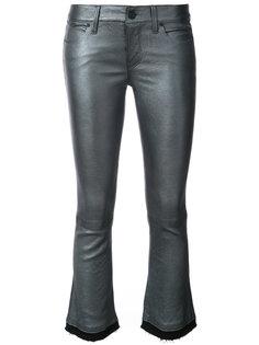 cropped raw edge trousers Rta
