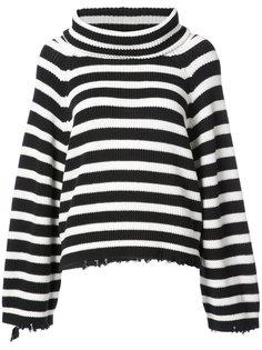 полосатый свитер в стиле оверсайз Rta