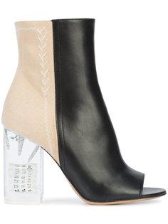 туфли с открытым носком Maison Margiela