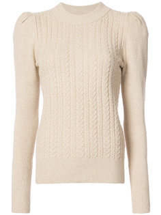 cable knit jumper Co