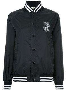 спортивная куртка-бомбер с принтом G.V.G.V.Flat