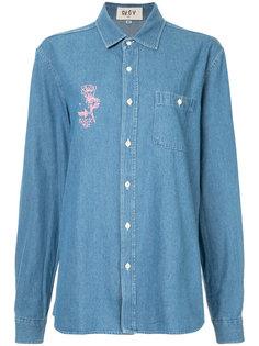 джинсовая рубашка с принтом G.V.G.V.Flat