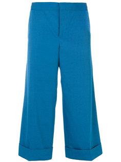 широкие брюки-капри Techno Marni