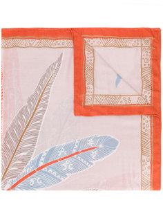 шарф с принтом Lynk Hemisphere
