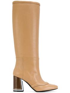 ботинки на каблуке Marni