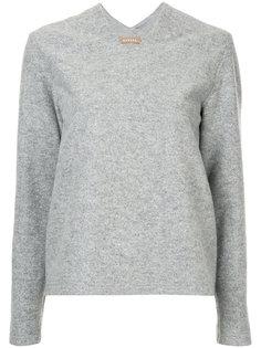 пуловер с V-образным вырезом Nehera