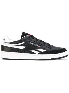 контрастные кроссовки на шнуровке Reebok
