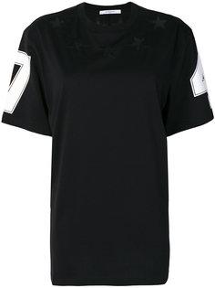 футболка с декором Stars Givenchy