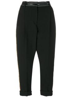 укороченные брюки с пайетками  Dolce & Gabbana