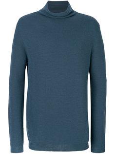свитер с отворотной горловиной  Wooyoungmi