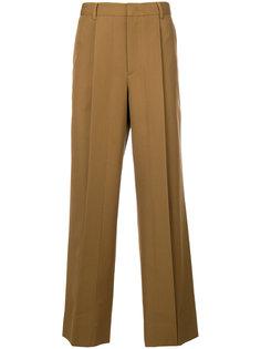 классические брюки со складками Wooyoungmi