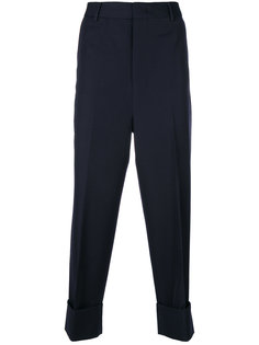 широкие классические брюки Wooyoungmi