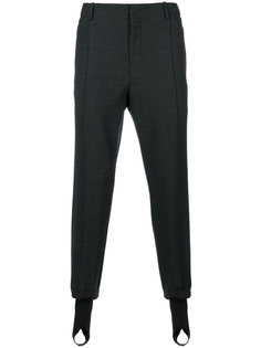 классические брюки с присборенными манжетами Wooyoungmi